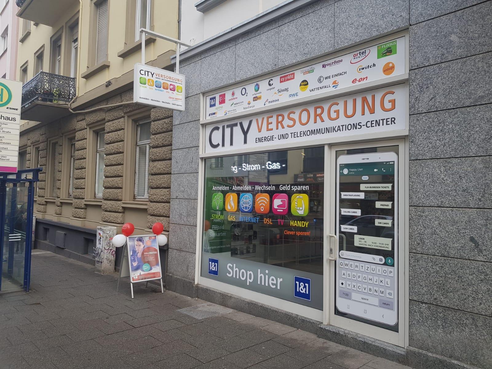 City Versorgung 1&1 Shop Wiesbaden