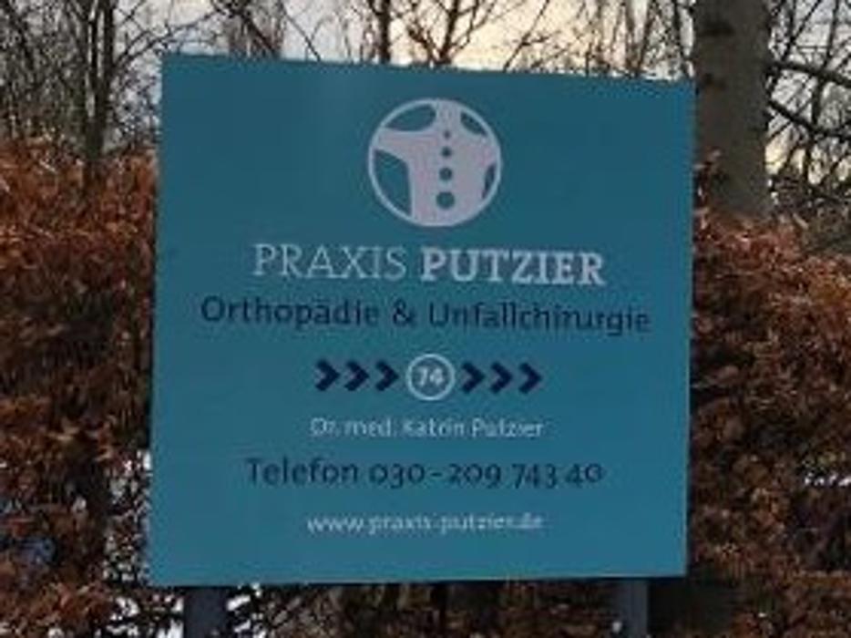 Bild zu Dr. med. Katrin Putzier Praxis für Orthopädie und Unfallchirurgie in Berlin