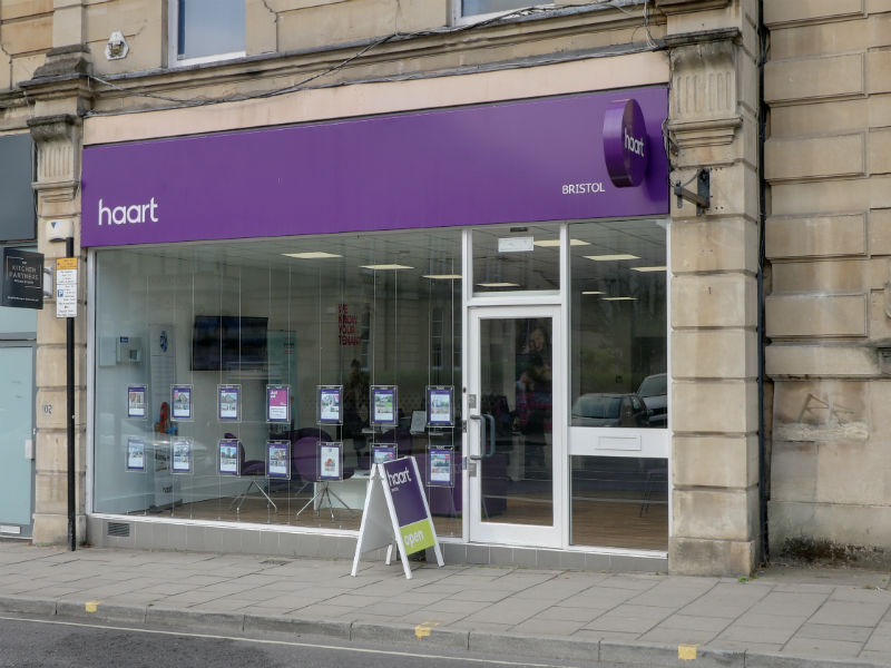 haart estate and lettings agents Bristol