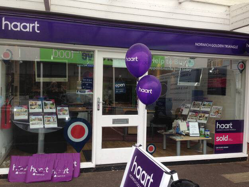 haart estate agents Norwich Golden Triangle - Norwich, Norfolk NR2 3PD - 01603 458400   ShowMeLocal.com