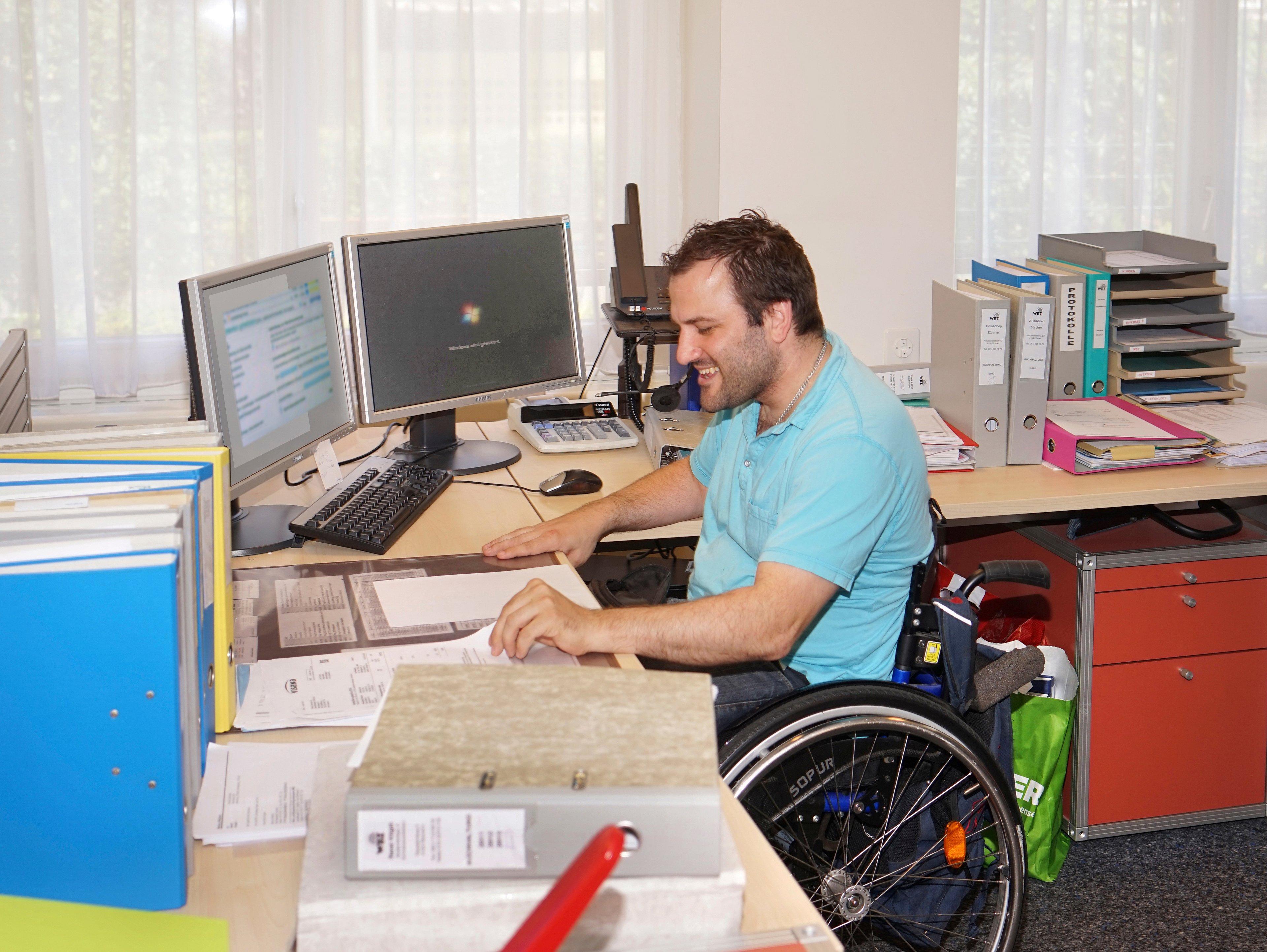 Wohn- und Bürozentrum für Körperbehinderte (WBZ)