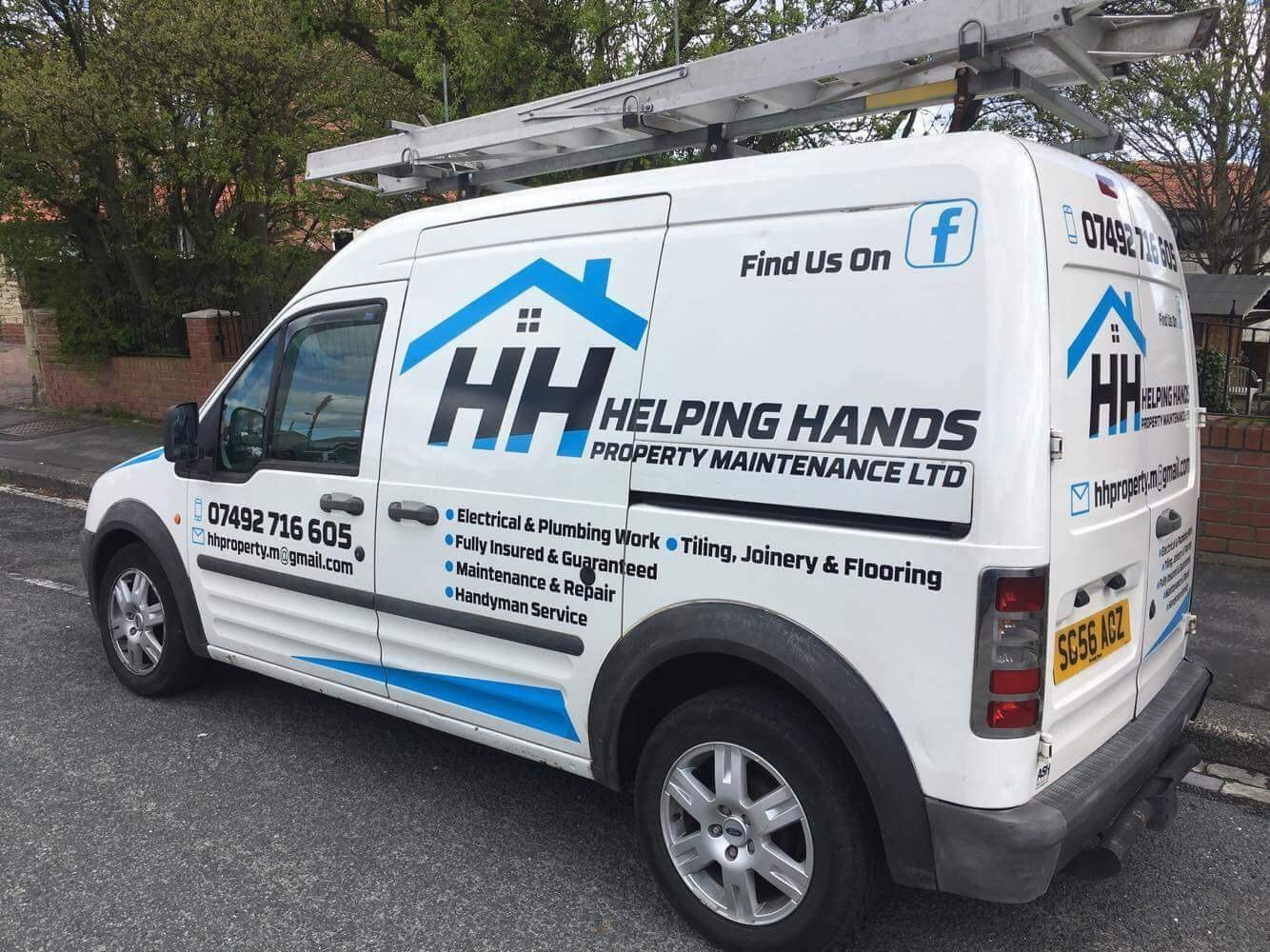 Helping hands property maintenance ltd