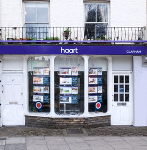 haart letting agents Clapham Common