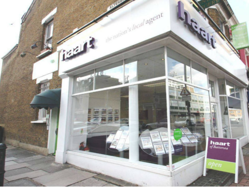 haart letting agents Battersea