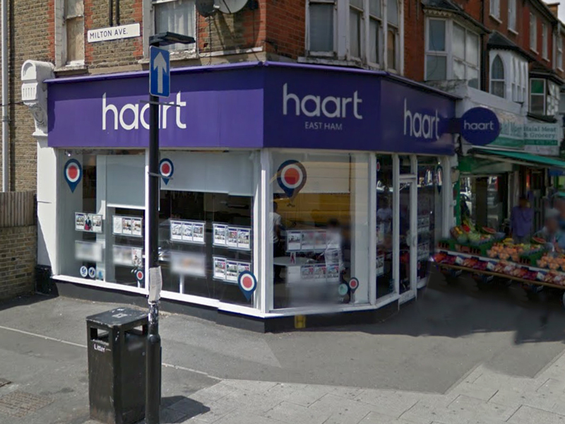 haart letting agents East Ham