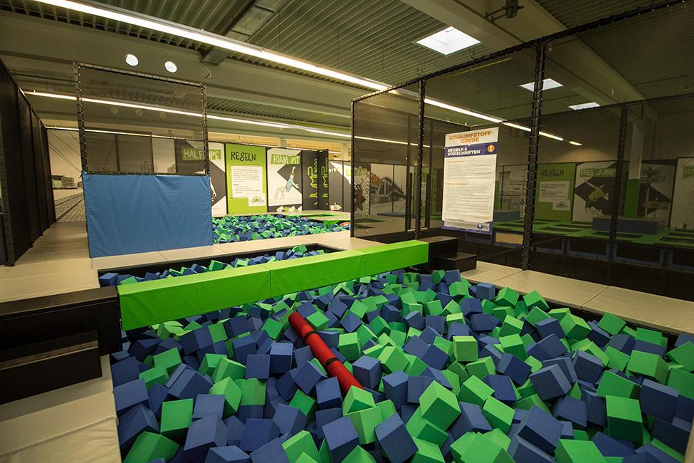 JUMP3000 GmbH - Parkour- und Trampolinpark