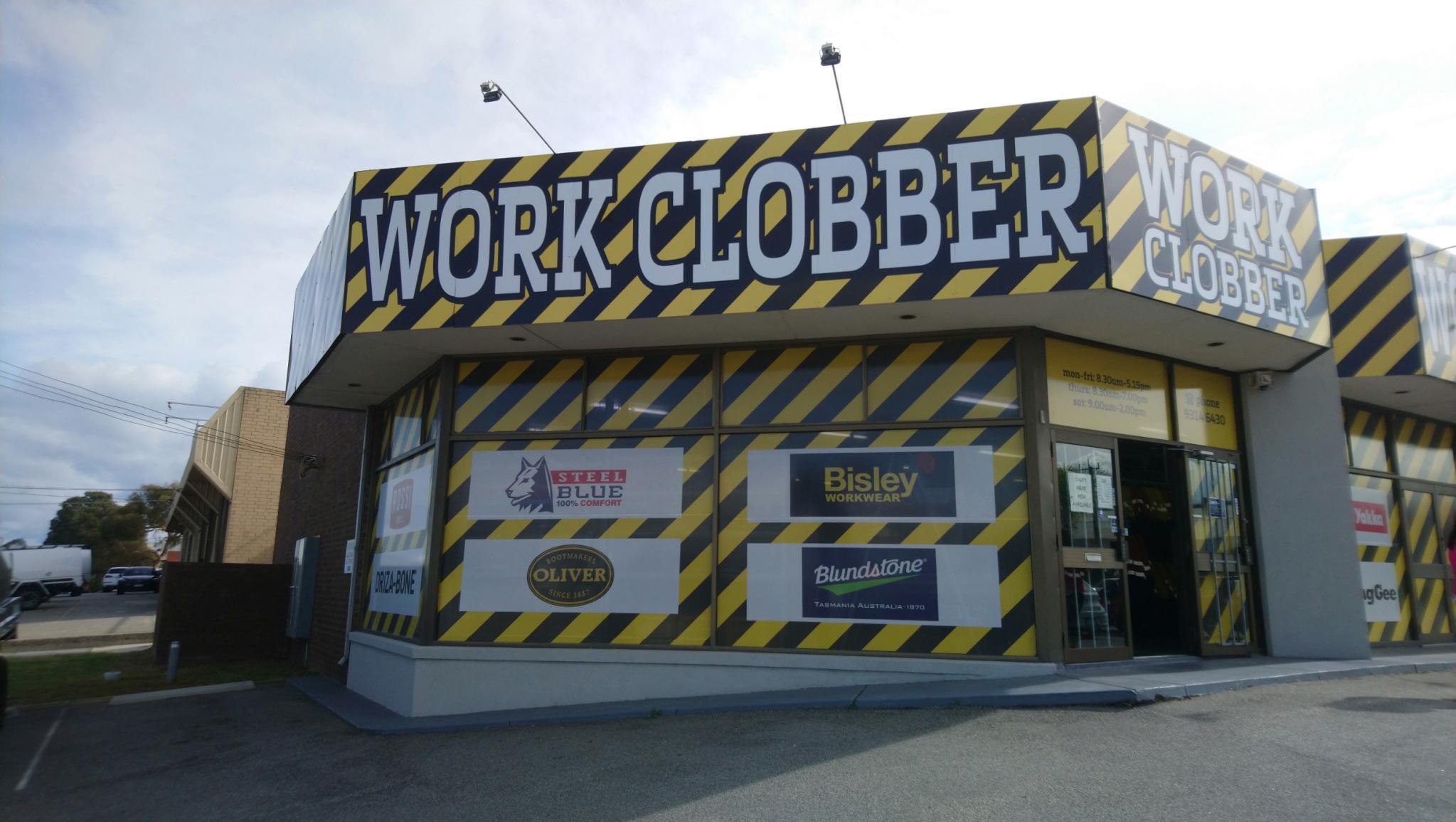 Work Clobber