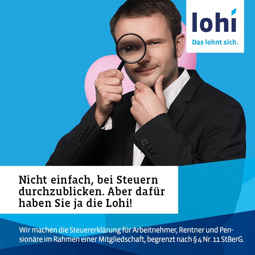 Lohi - Lohnsteuerhilfe Bayern e. V. Lauf