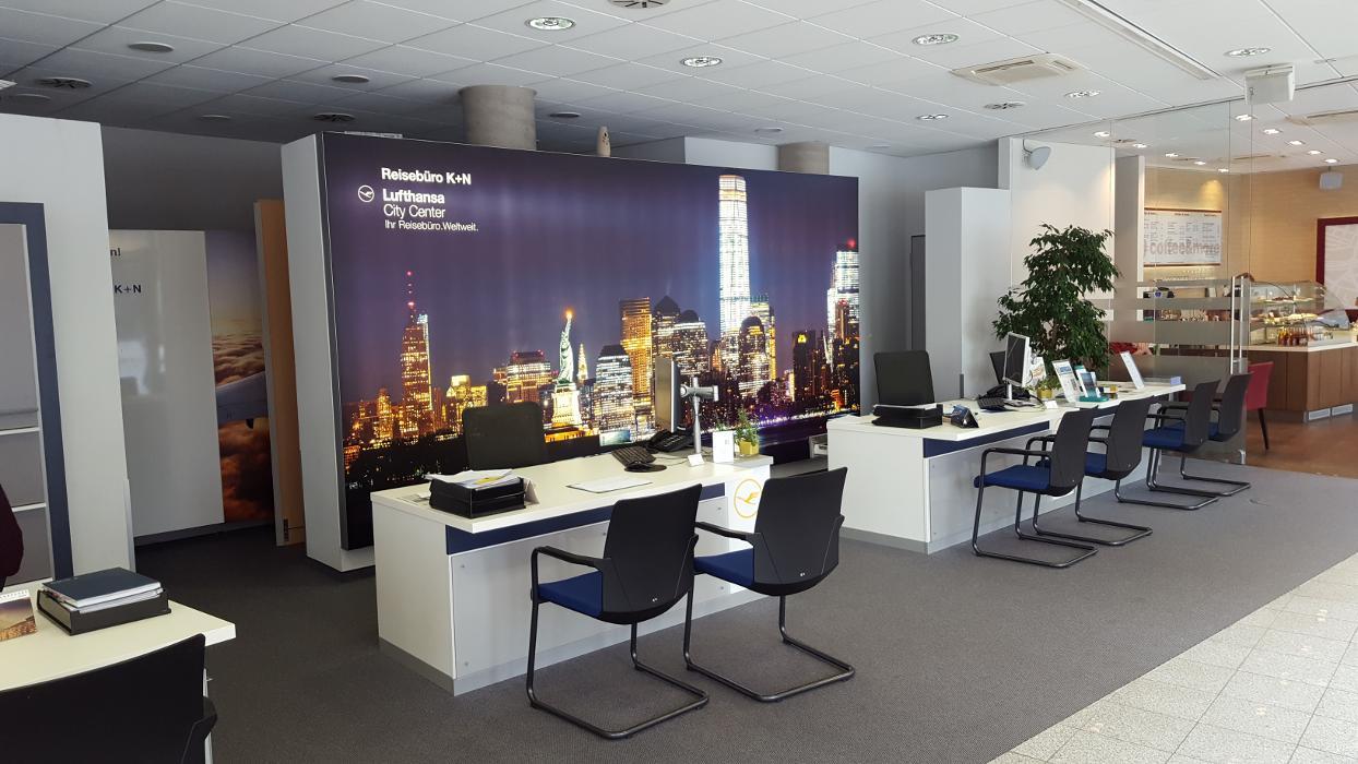 Lufthansa City Center Reisebüro K+N, Zeltnerstraße in Nürnberg