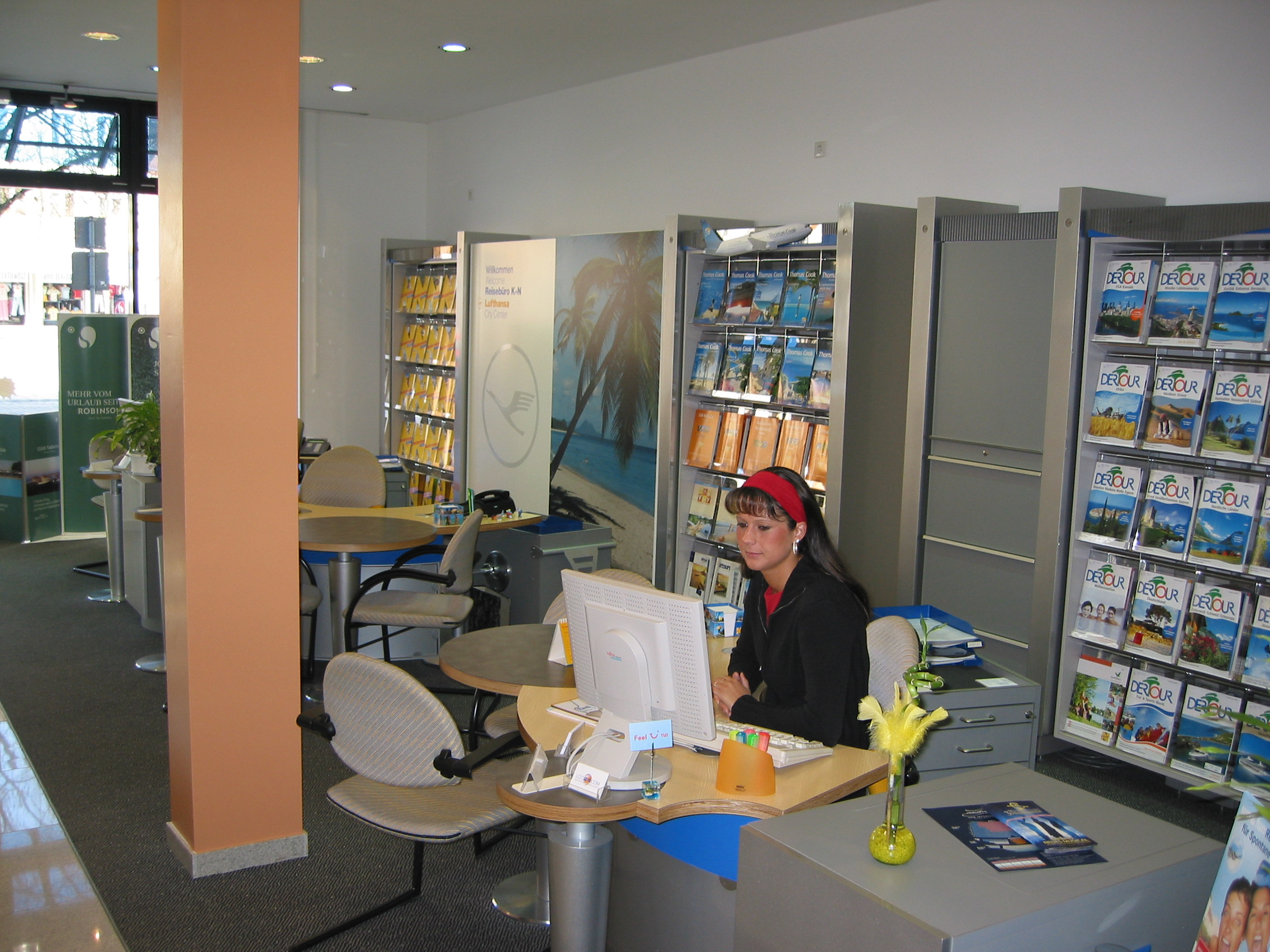 Lufthansa City Center Reisebüro K+N