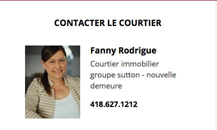 Fanny Rodrigue - Sutton Nouvelle Demeure
