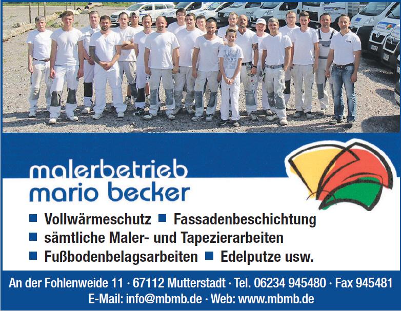 Malerbetrieb Mario Becker