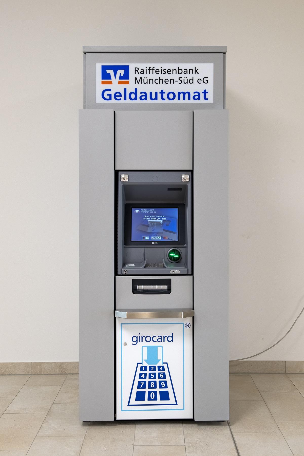 Foto de Geldautomat Raiffeisenbank München Süd eG- Fachmarktcenter