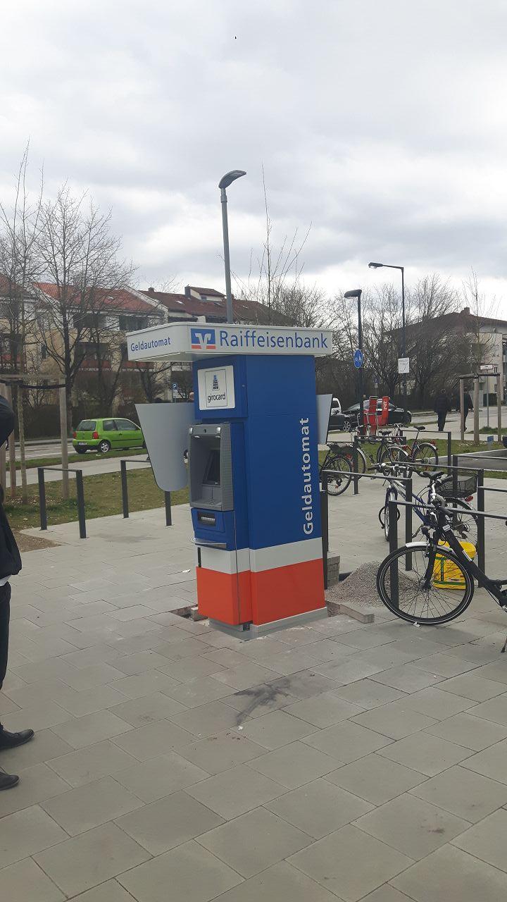 Geldautomat Raiffeisenbank München Süd eG- Lochhamer Str. 31