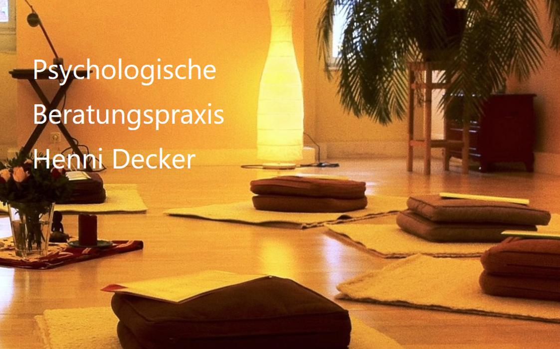 Bild zu Psychologische Beratungspraxis Henni Decker in Aachen