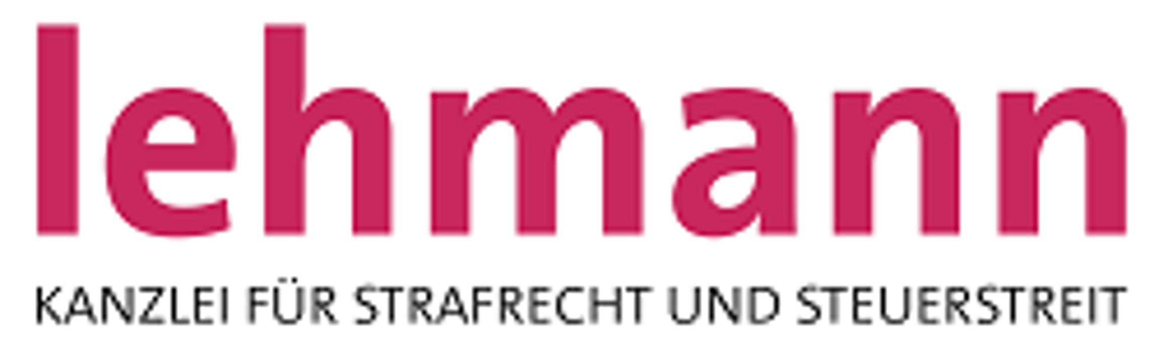 Bild zu Kanzlei Lehmann - Rechtsanwälte für Strafrecht und Steuerstrafrecht in Berlin