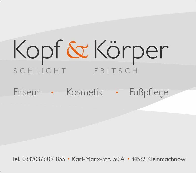 Bild zu Kopf & Körper Kristine Schlicht & Gudrun Fritsch in Kleinmachnow