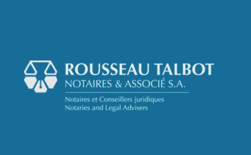 Rousseau Talbot Notaires & Associé S.A.