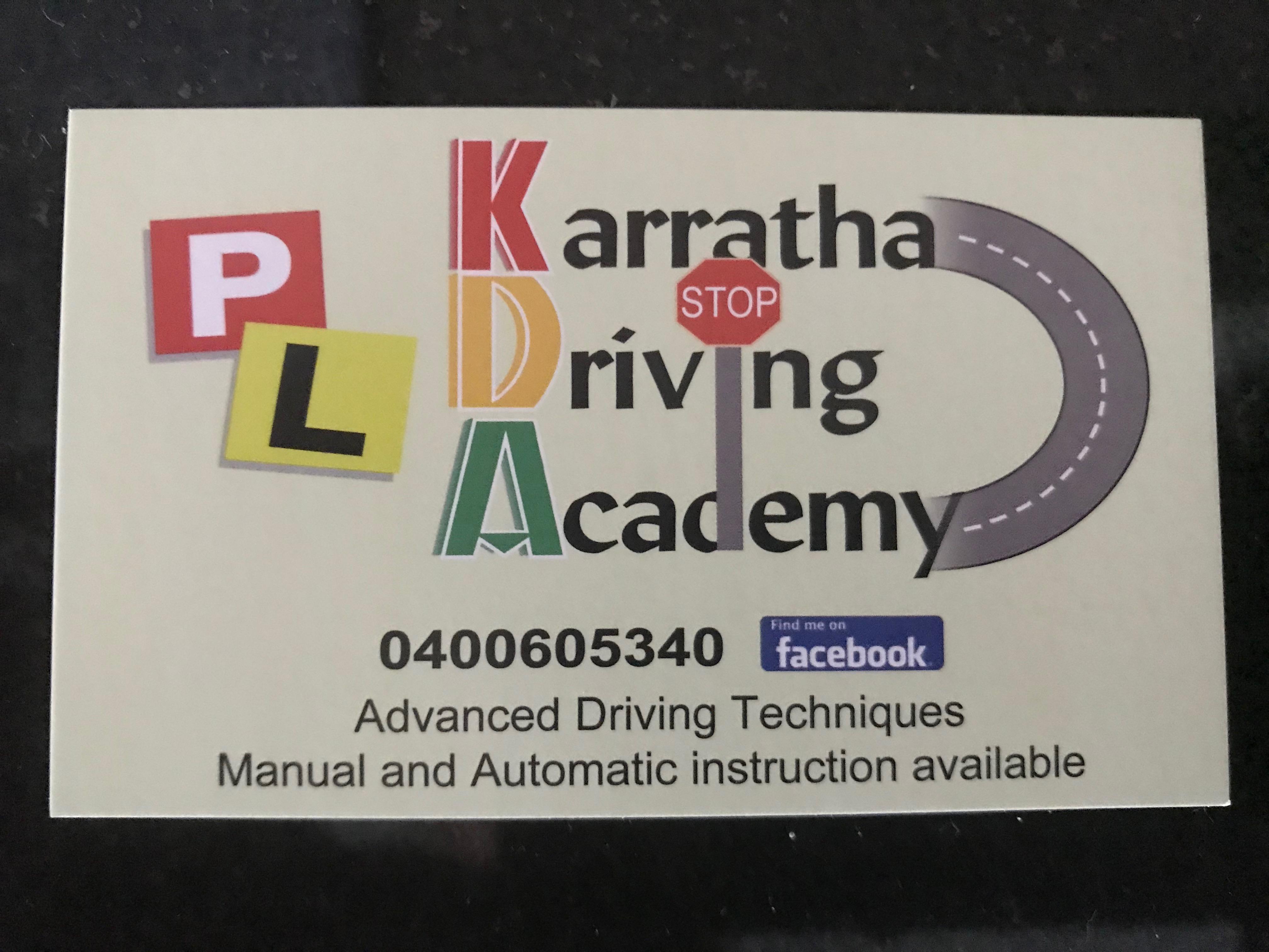 Karratha Driving Academy - Nickol, WA 6714 - 0400 011 128