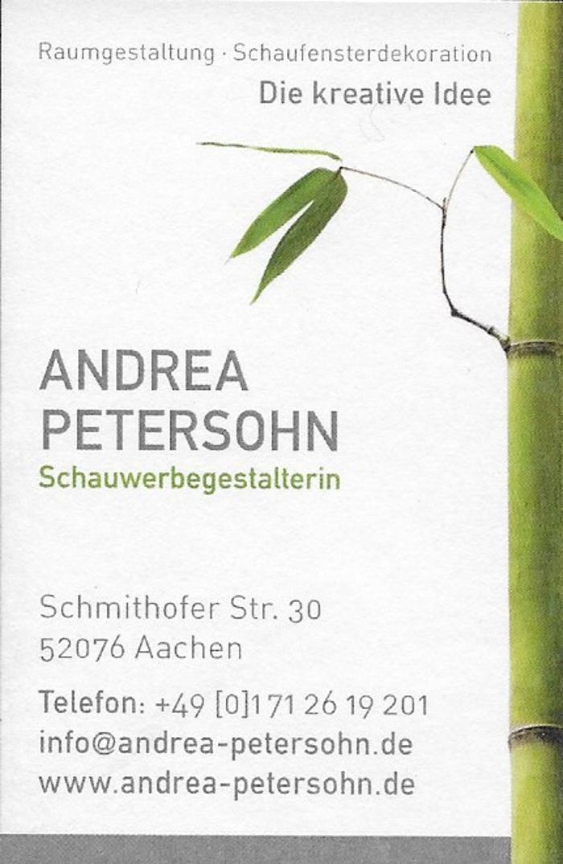 Bild zu Andrea Petersohn Schauwerbegestalterin in Aachen