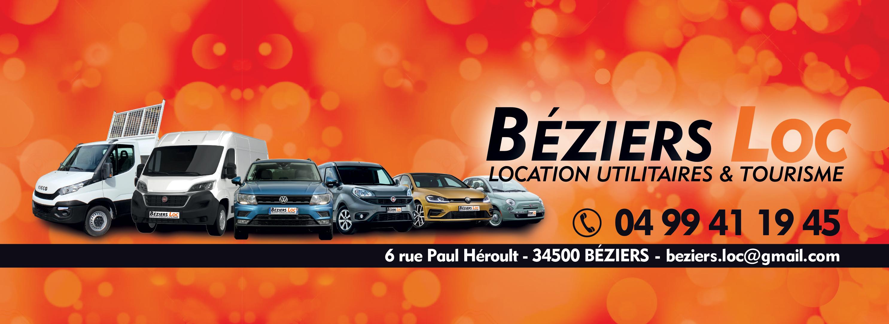 Beziers Loc location de voiture et utilitaire