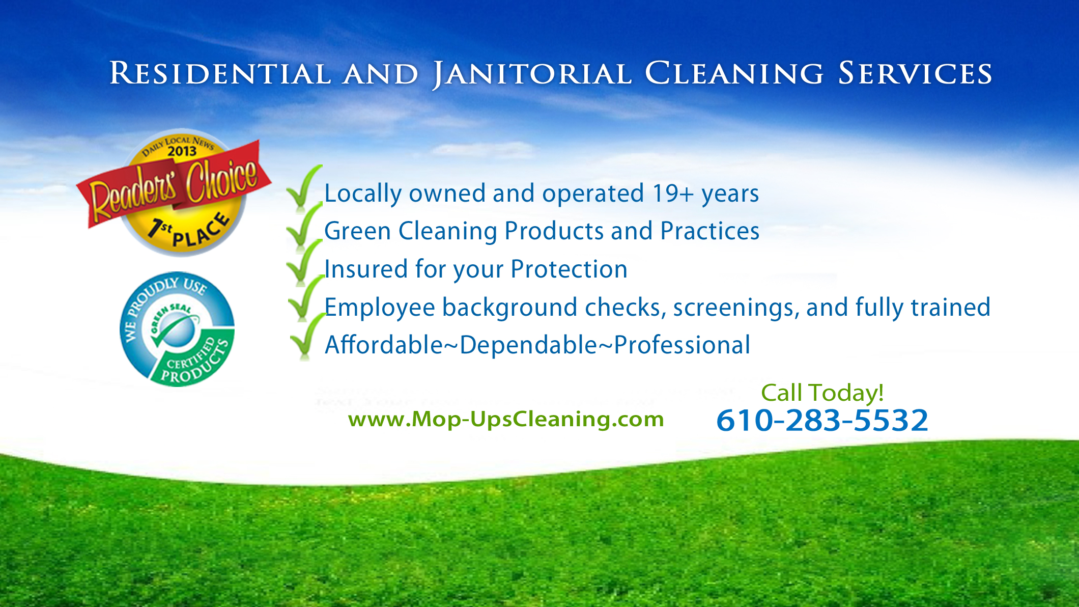 Mop-Ups Cleaning Sevices