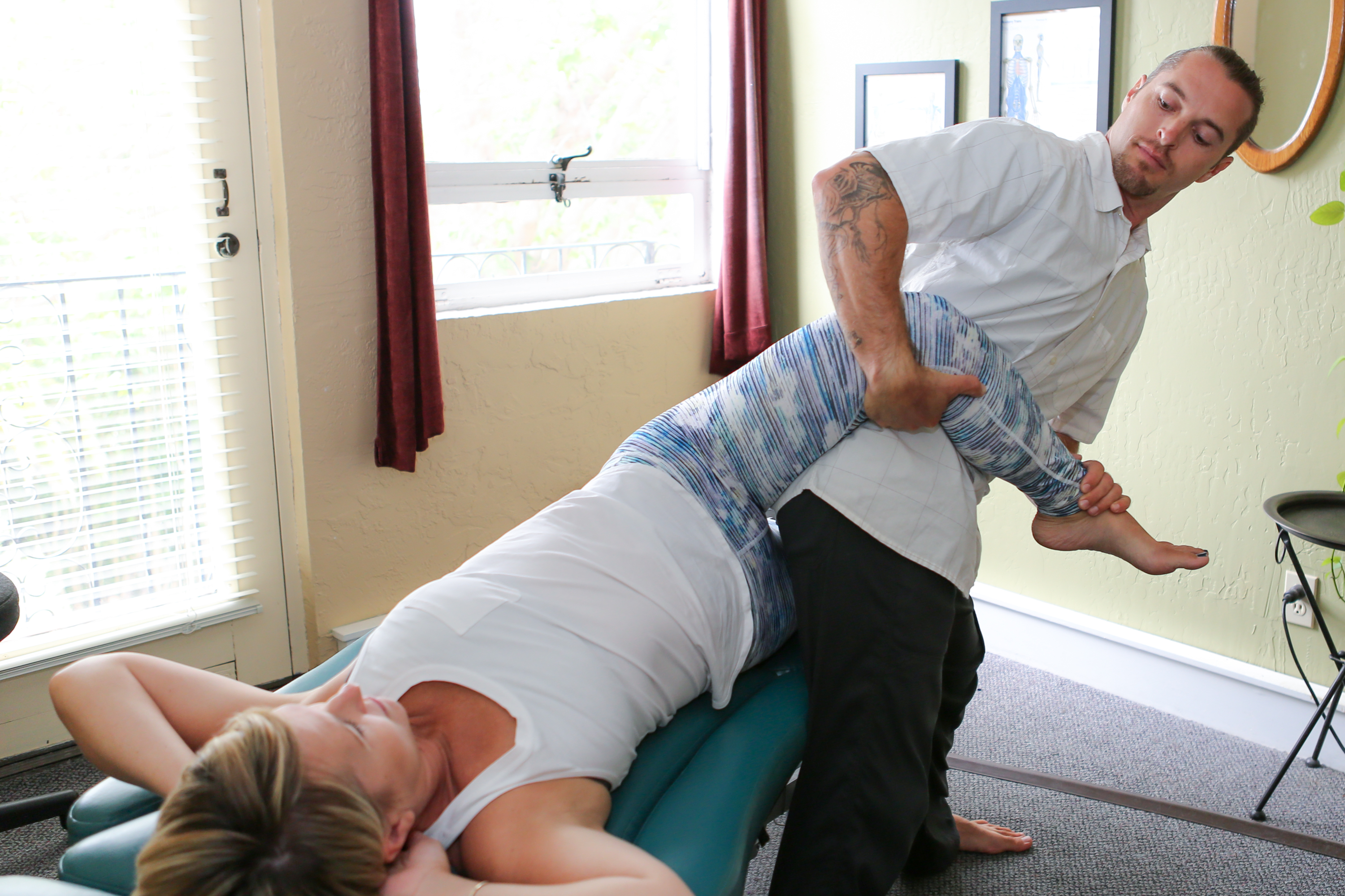 Pacific Motion Bodywork: Integrated Bodywork with Marcus McDonough, CMT, CFST