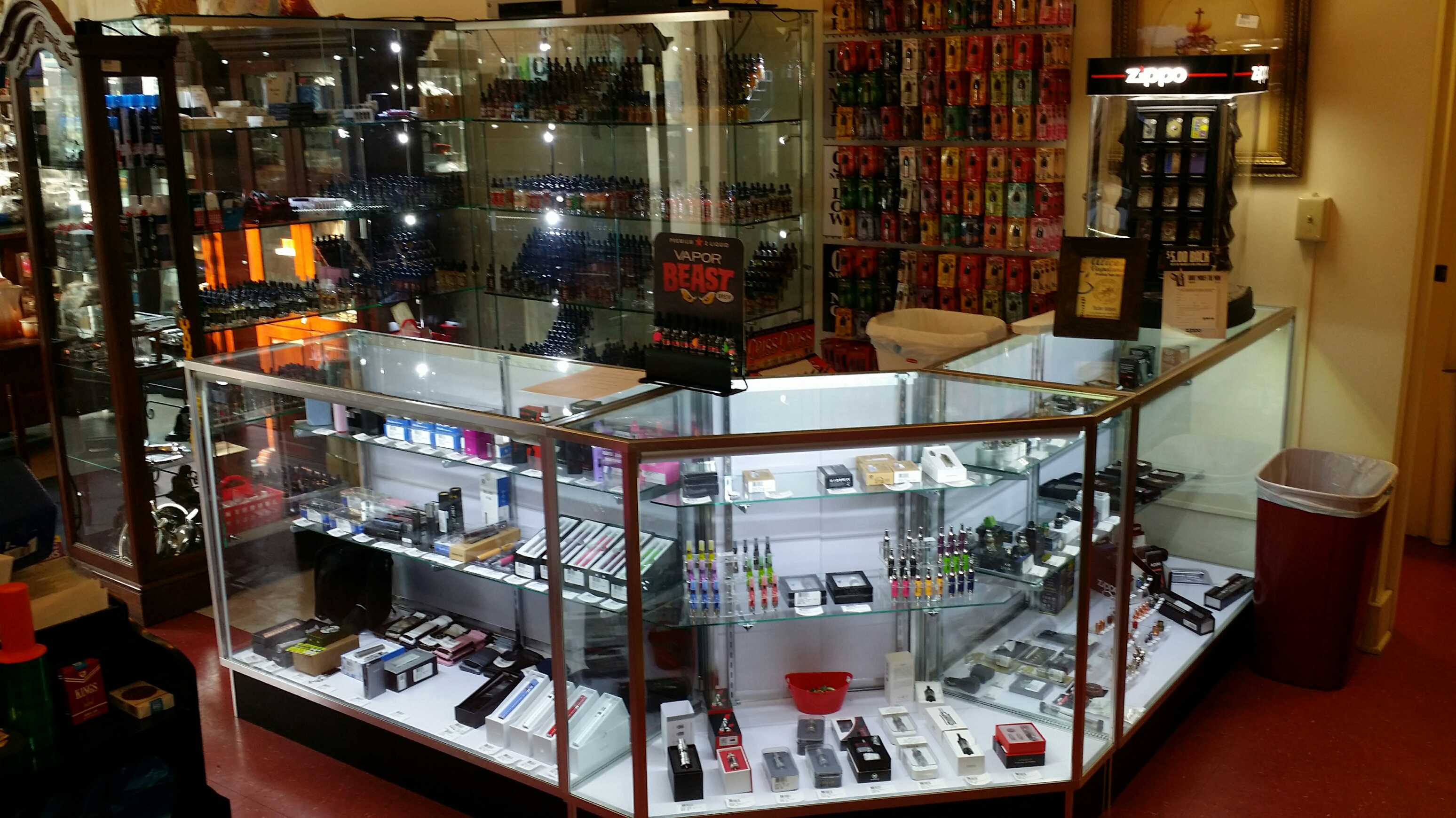 Fischer Antiques, Premium Cigars, and Vapes
