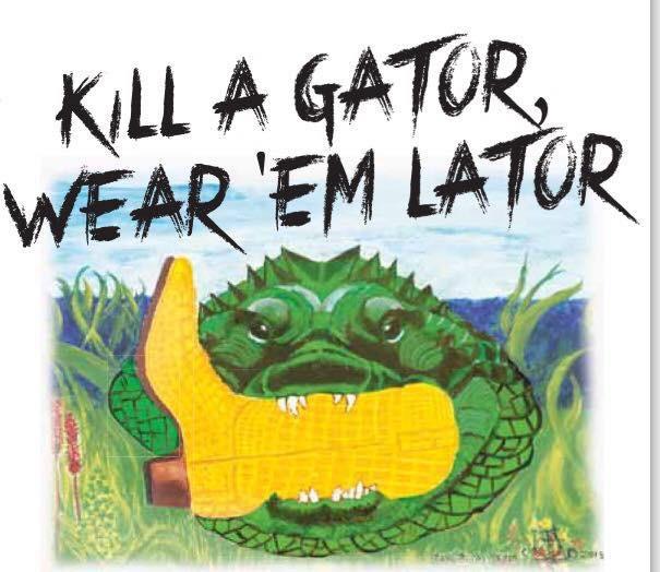 Alligator Solution Gator Hunts by Meyer Ranch