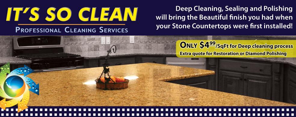 IT'S SO CLEAN - Concrete Polishing Restoration