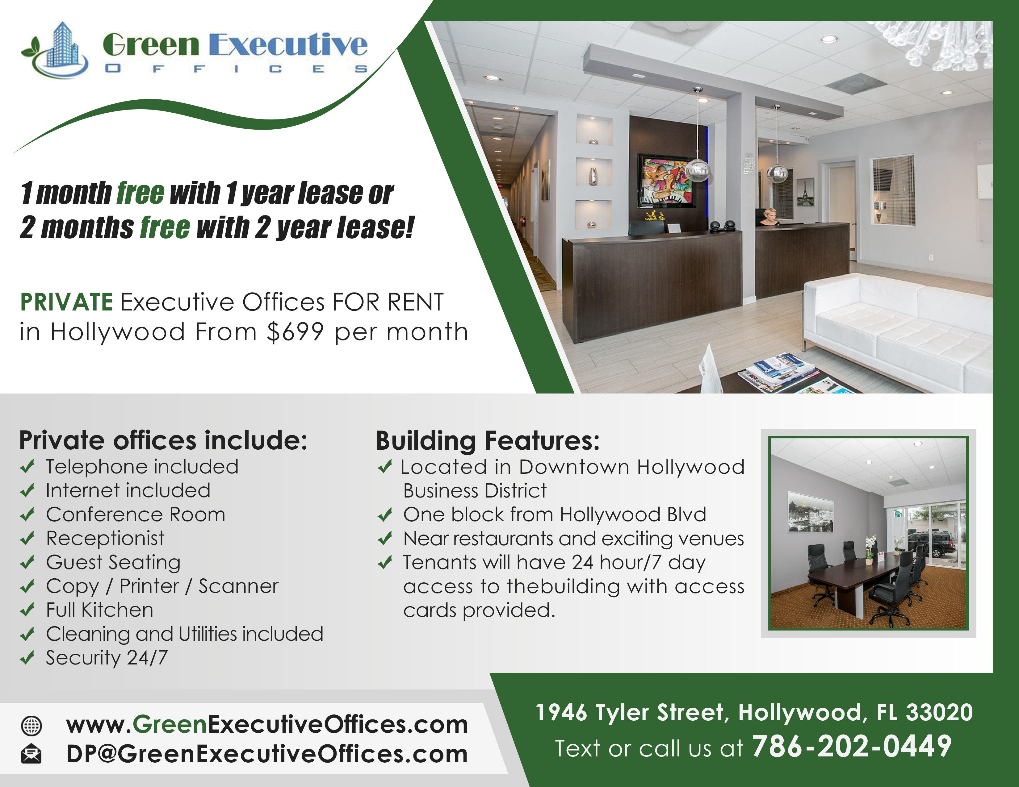 Green Executive Offices