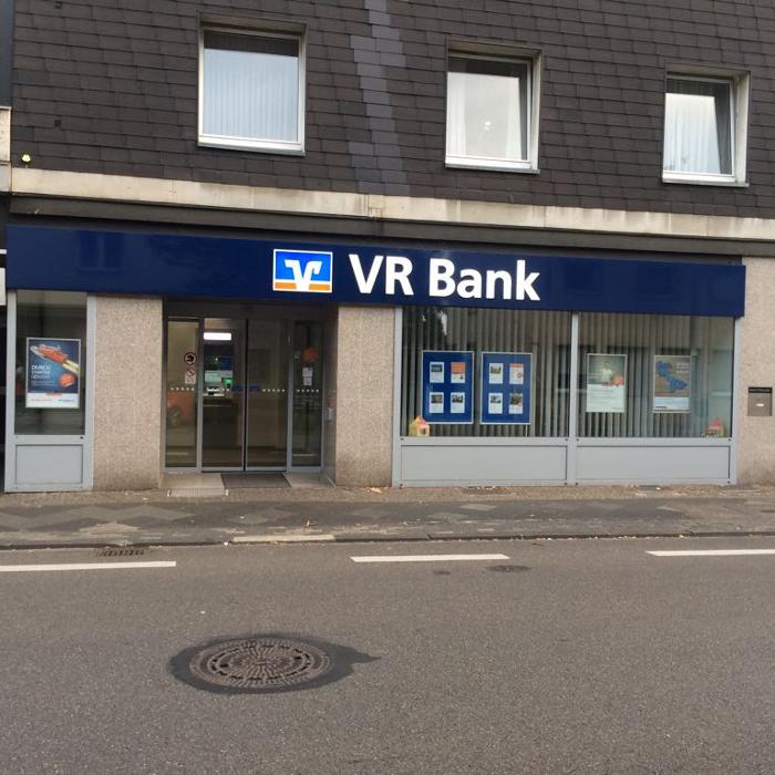 VR Bank eG Bergisch Gladbach-Leverkusen Geschäftsstelle Küppersteg, Küppersteger Straße in Leverkusen