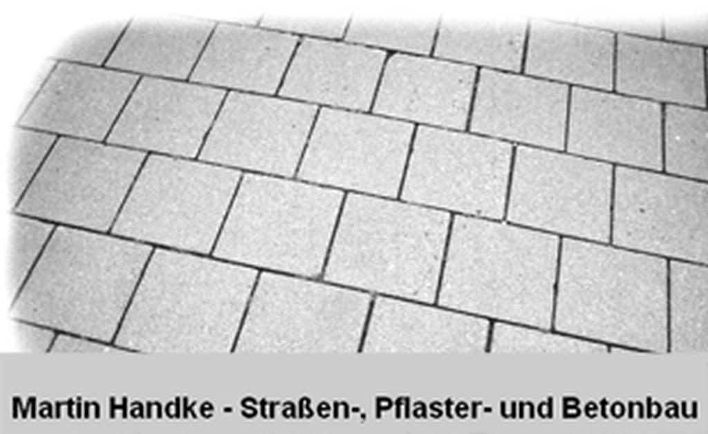 Martin Handke Straßen-, Pflaster-und Betonbau