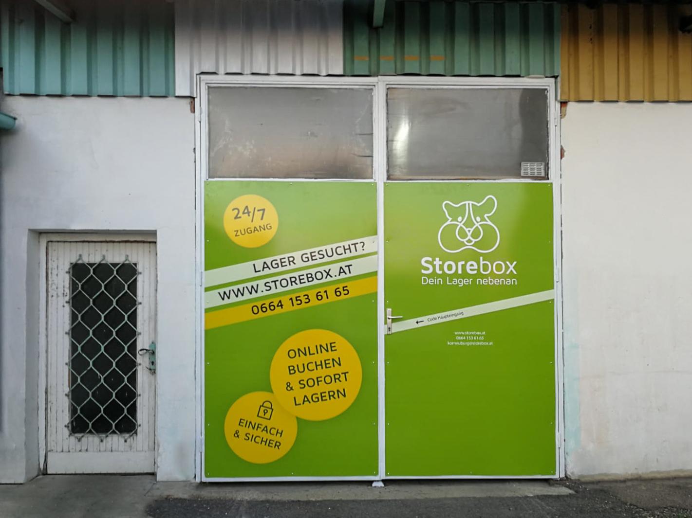 Storebox - Dein Lager nebenan