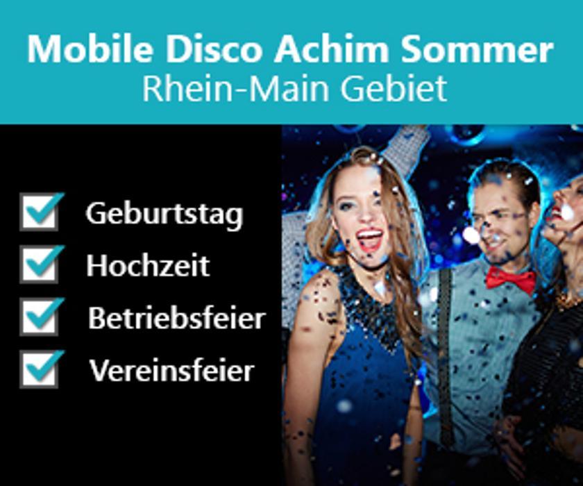 Bild zu Mobile Disco Achim Sommer Rhein-Main Gebiet in Eppstein
