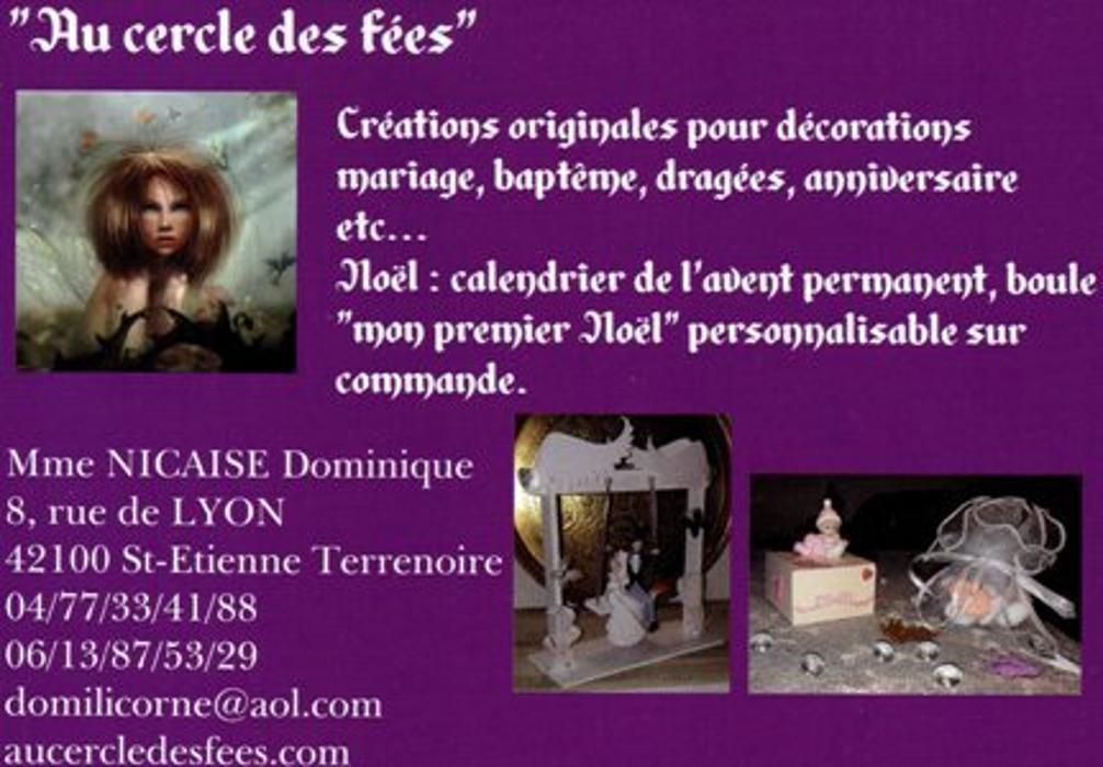 Au Cercle des Fées Atelier et vente pour loisirs créatifs store