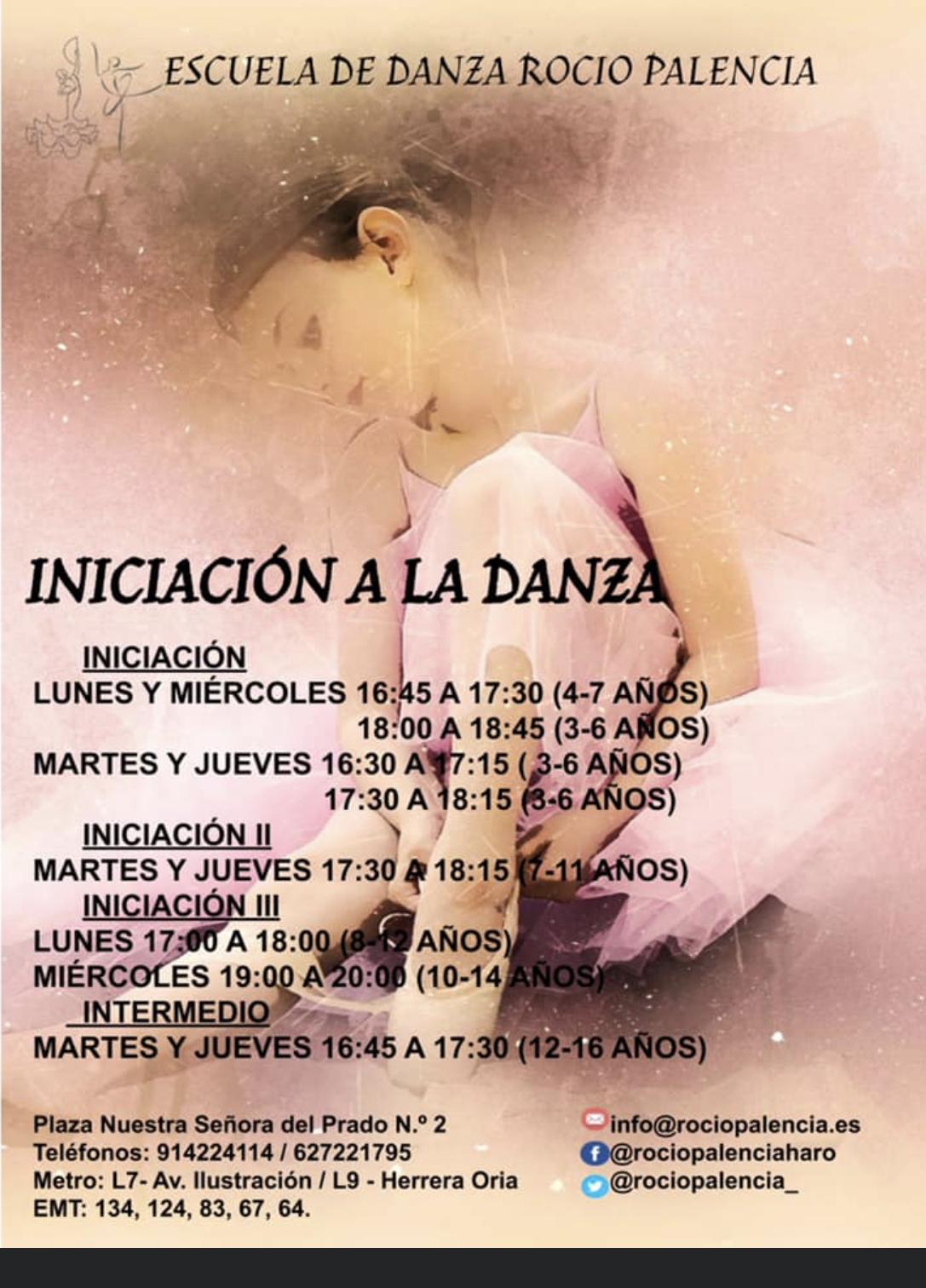Escuela de Danza Rocío Palencia Haro