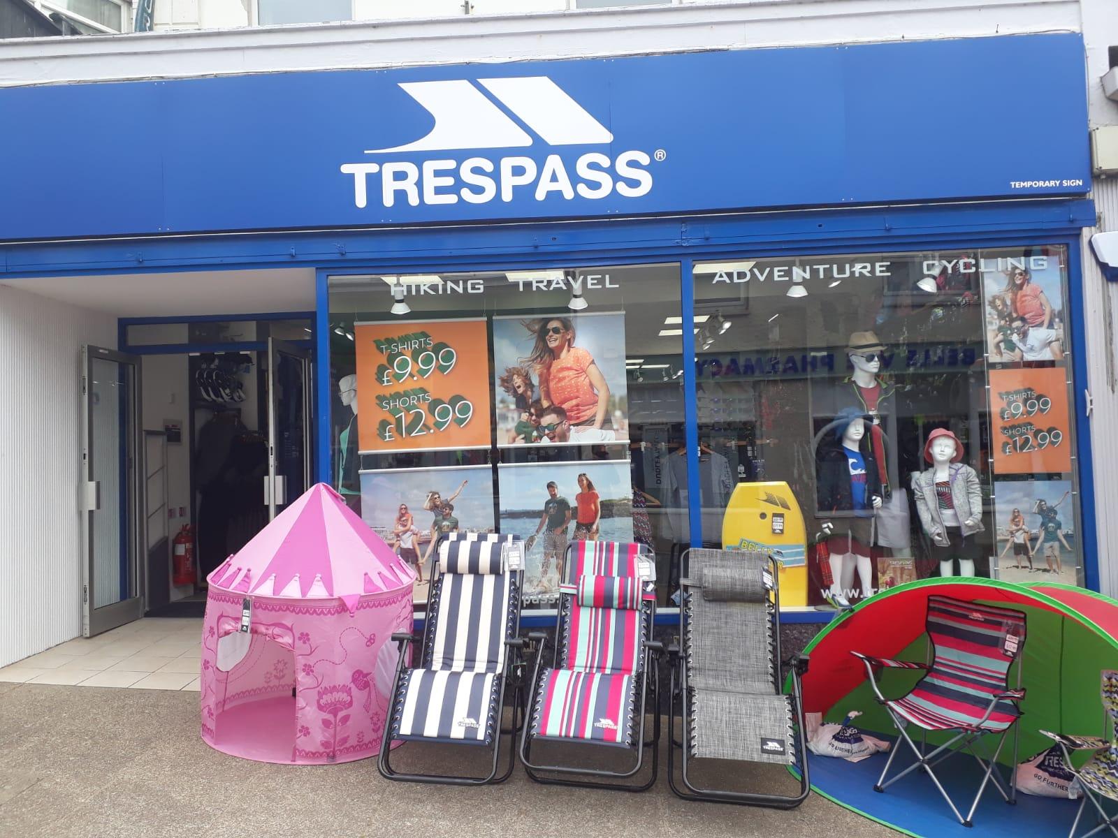 Trespass - Bude, Cornwall EX23 8JL - 01288 355059 | ShowMeLocal.com