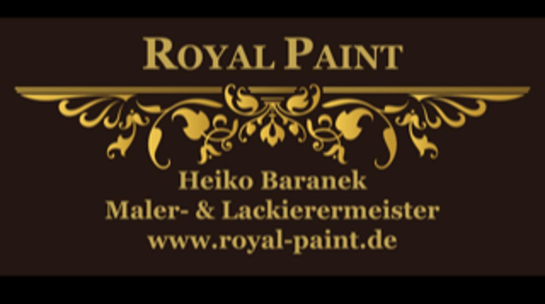 Bild zu Royal Paint Malerbetrieb Maler- & Lackierermeister Heiko Baranek in Falkensee