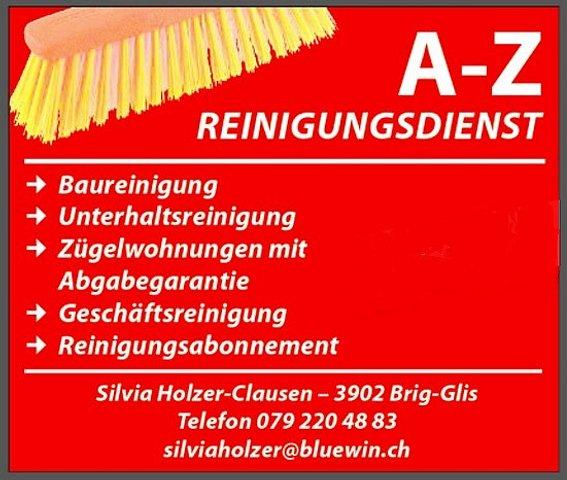 Reinigungsdienst A-Z