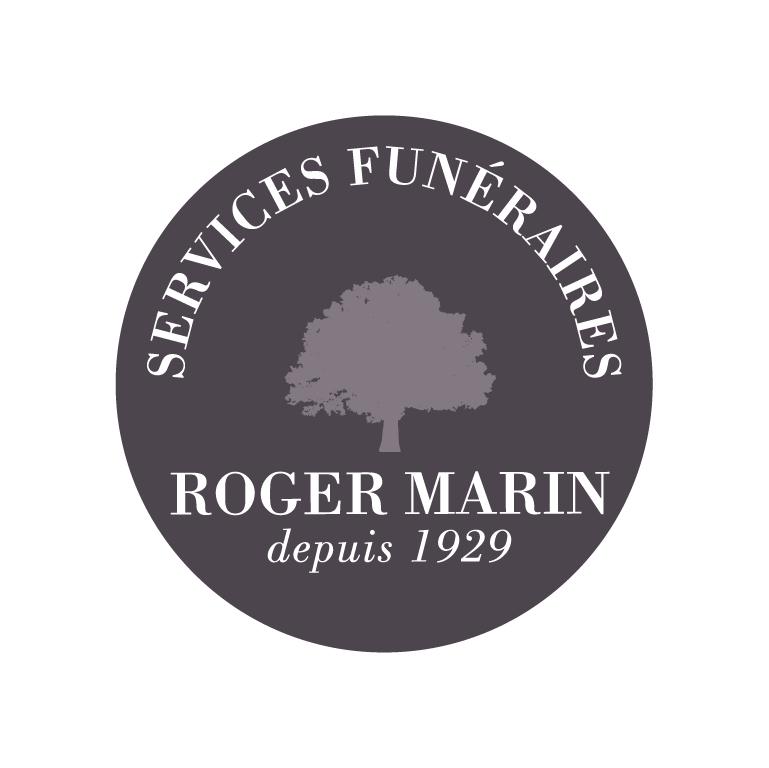Pompes Funèbres et Marbrerie Roger MARIN Logo