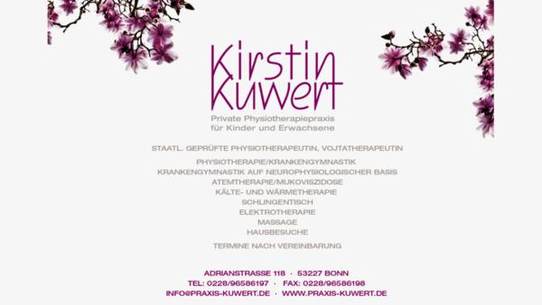 Private Physiotherapiepraxis für Kinder und Erwachsene Kirstin Kuwert