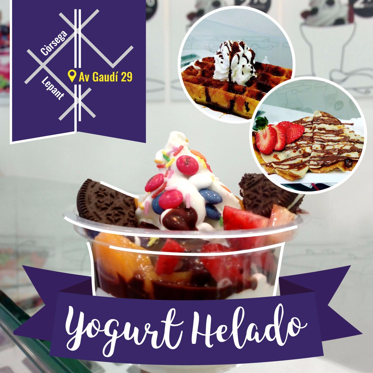 "Yogurtime - ""El Yogurt de Gaudí"""