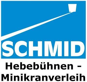 SCHMID Hebebühnen- Minikranverleih