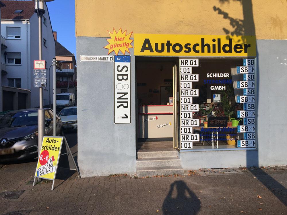 Schilder Steininger Saarbrücken-Burbach