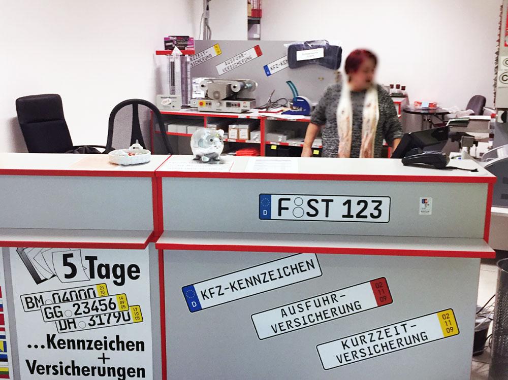 Schilder Steininger Frankfurt am Main