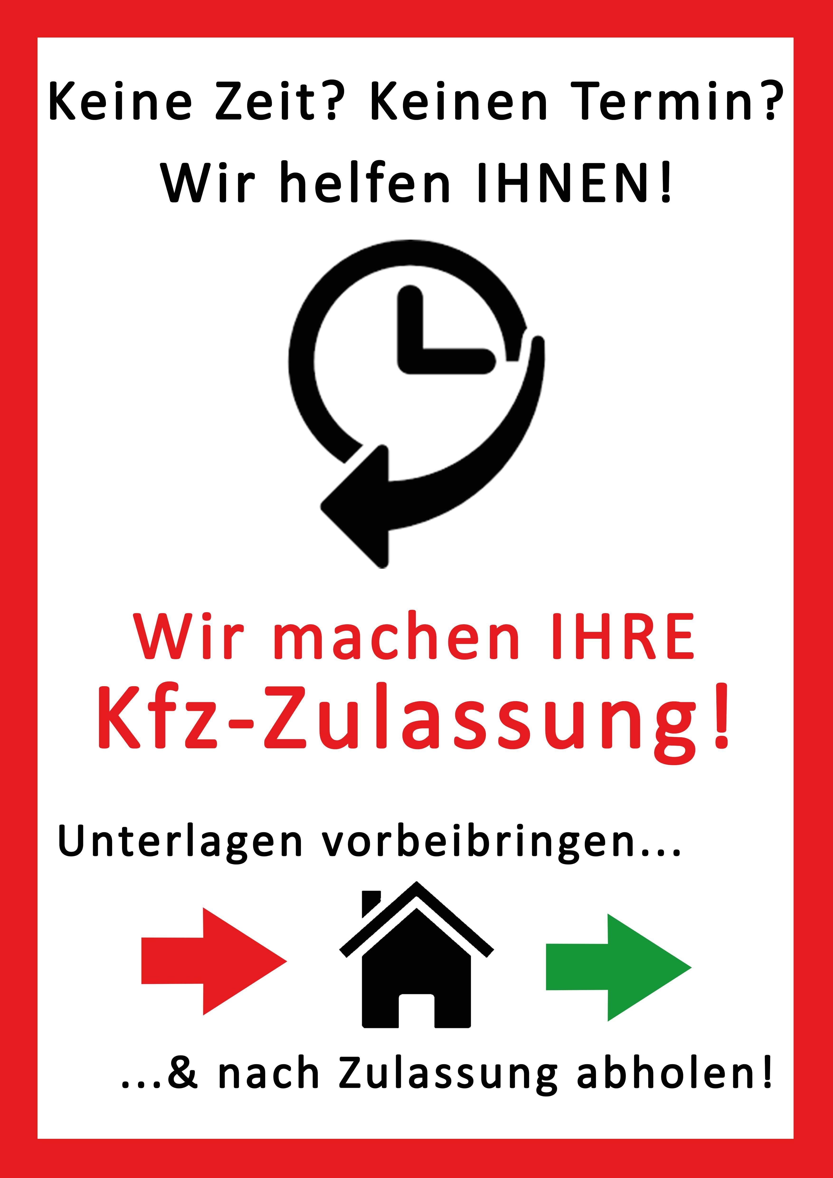 Autoschilder & Zulassungen Steininger Bielefeld