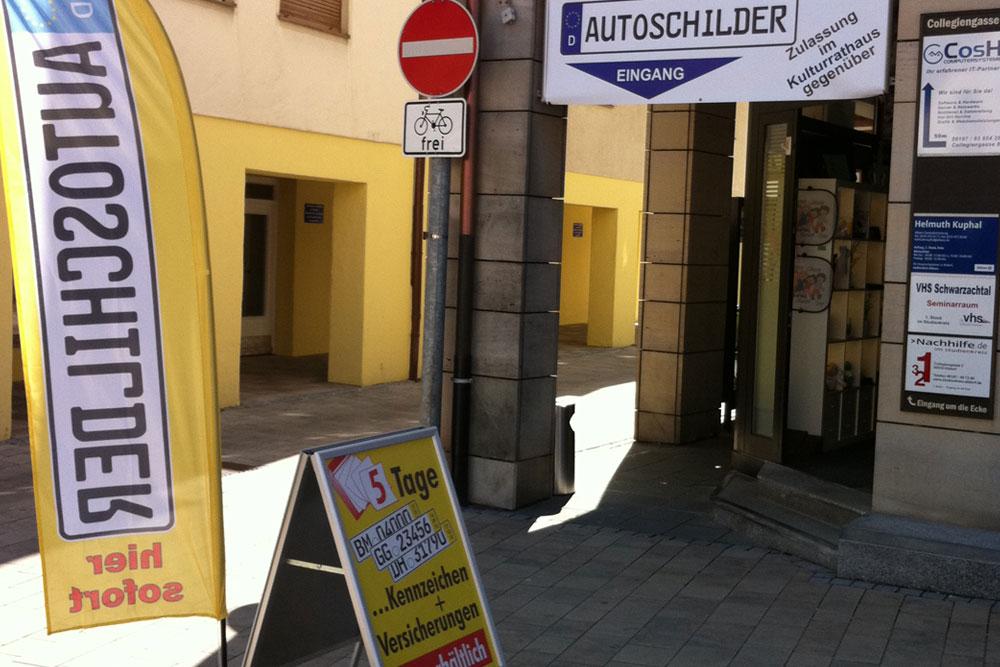 Autoschilder Tönjes Altdorf
