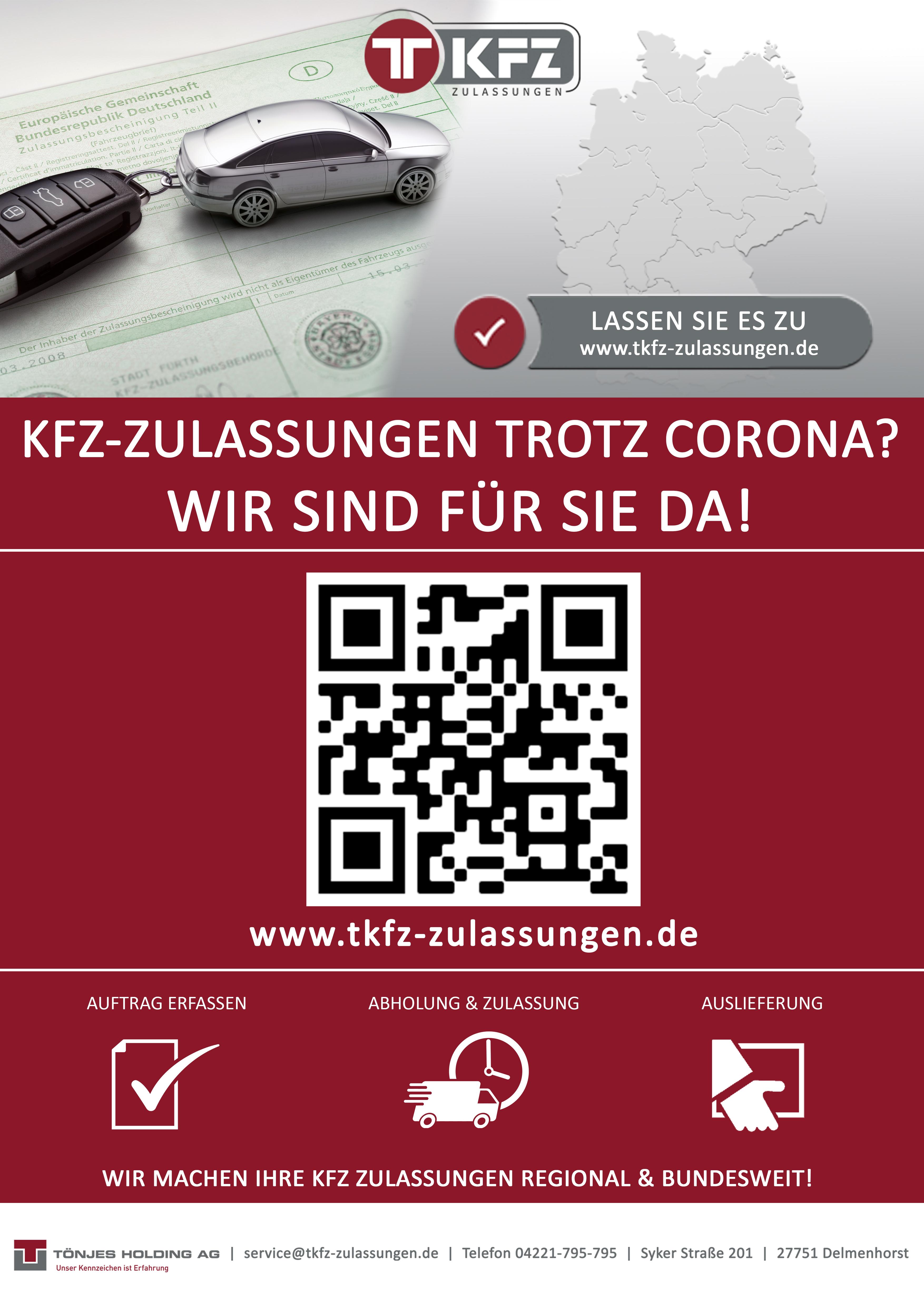 Autoschilder & Zulassungen Tönjes Neustadt-Weinstraße