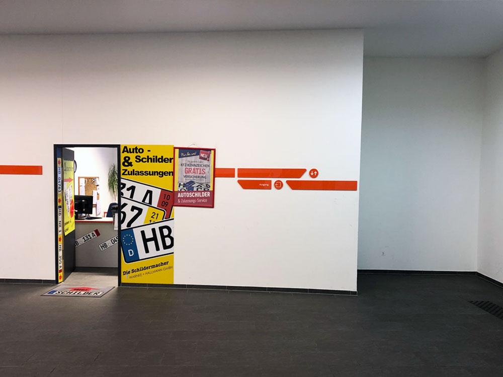 Die Schildermacher Warnke + Hallmann Bremen-Nord